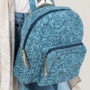 Paisley Boho Mini Backpack